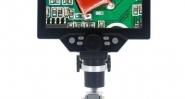 Дигитален микроскоп MUSTOOL G 1200X/HDR/1080FHD/12MP/LED/3000 mAh/ алуминиев статив