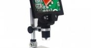 1-1200Х Цифров микроскоп 12MP 7 инчов цветен екран