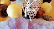 Сребърен пръстен пеперудено крило.