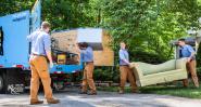 Извозване на строителни отпадъци, почистване на битов боклук