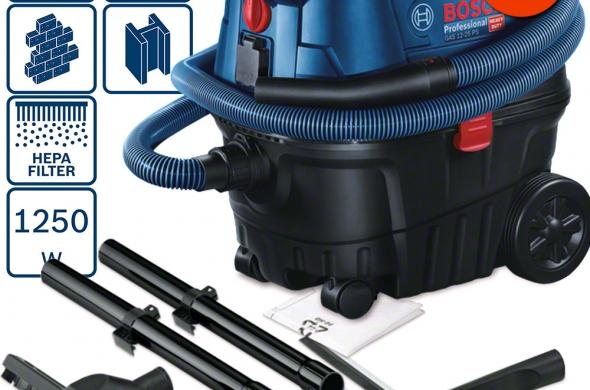 Прахосмукачка за мокро/сухо прахоулавяне GAS 15 PS Professional BOSCH