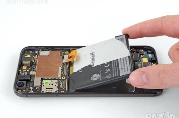 Смяна на батерия на Alcatel