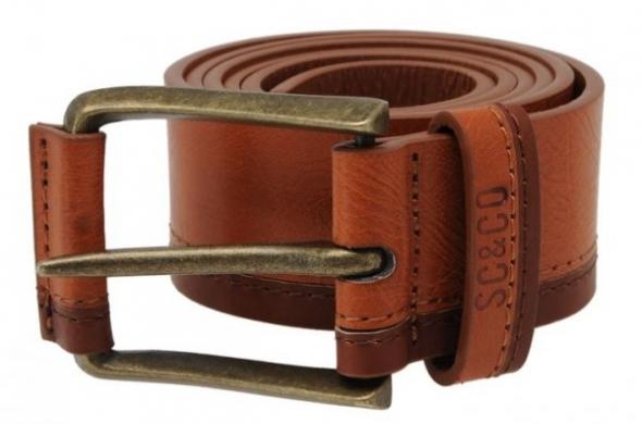 Елегантен мъжки колан SoulCal Belt с катарама в кафяво