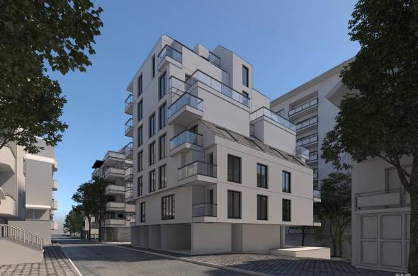 Двустаен апартамент в Гео Милев до Румънско посолство