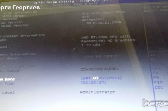 Продавам лаптоп на части ASUS X501U